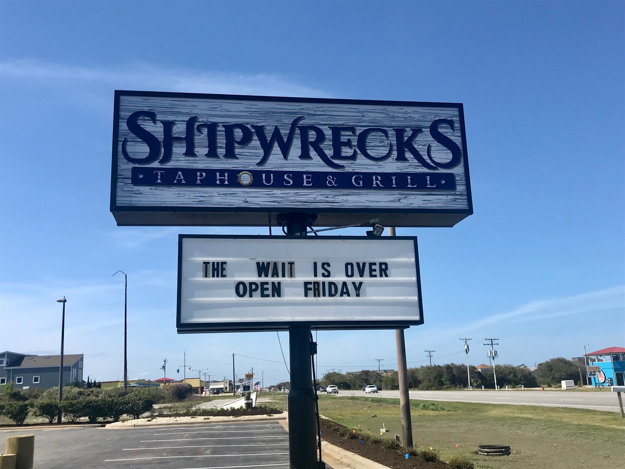 Shipwrecks Taphouse Grill Opens Today In Kitty Hawk