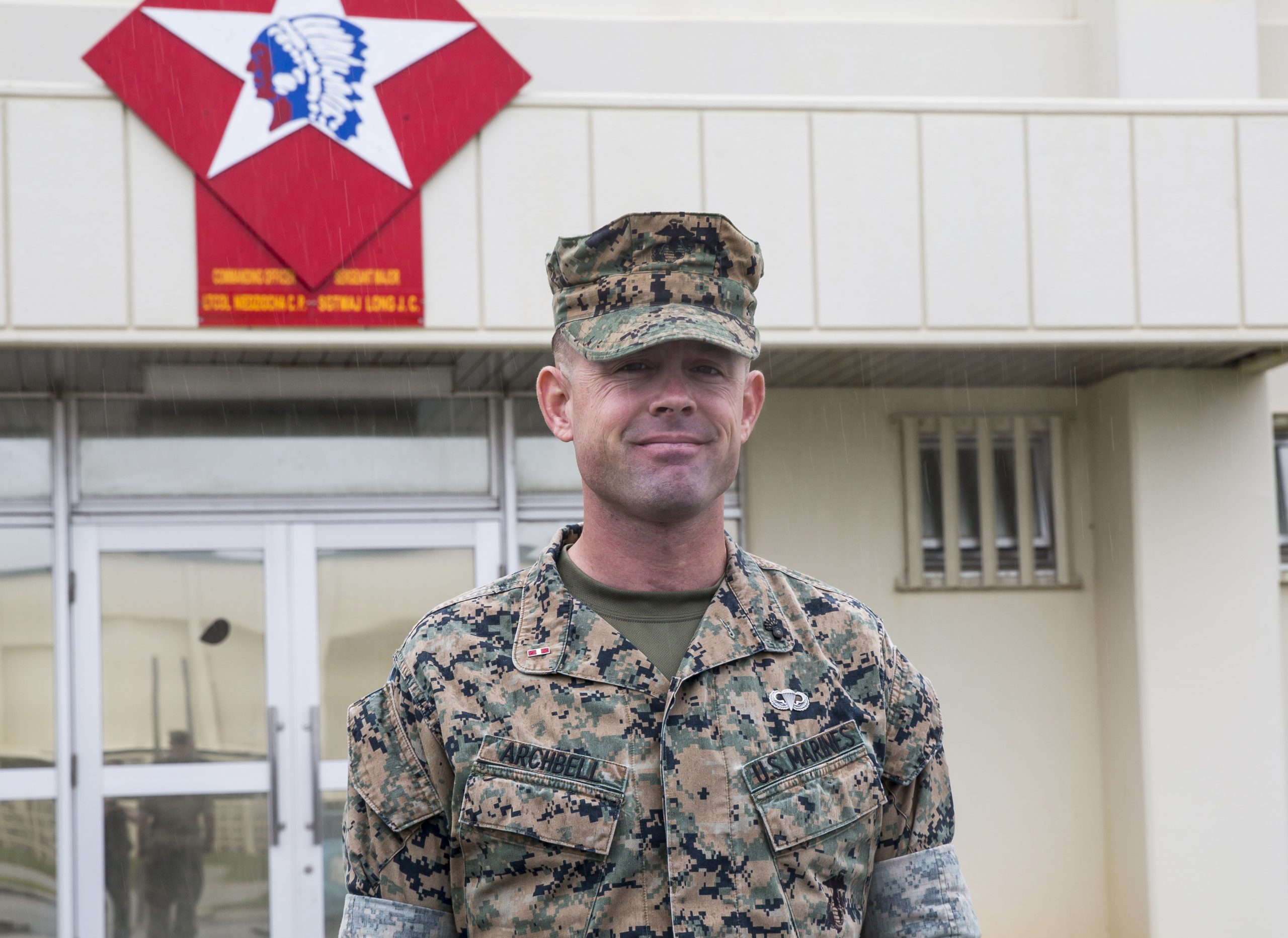 Marine Gunner From The Outer Banks Honored For Outstanding Leadership Obx Today