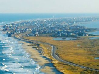 Outer Banks aerial view