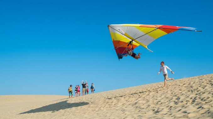 Dune Hang Gliding at Jockeys Ridge State Park