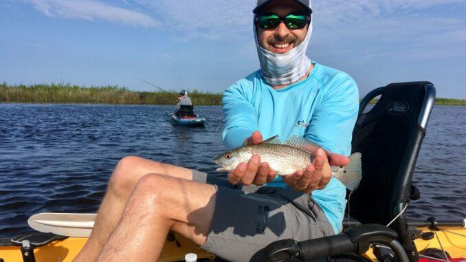 Hobie kayak fishing charter