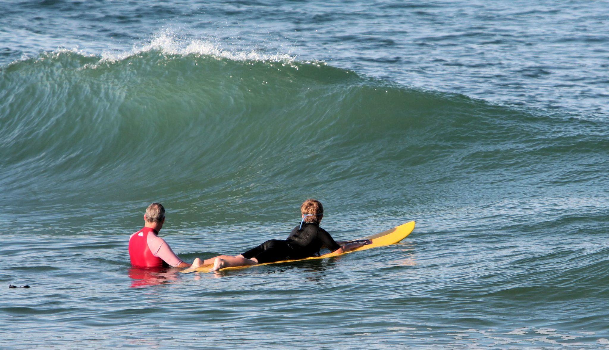 Surfing in Rodanthe