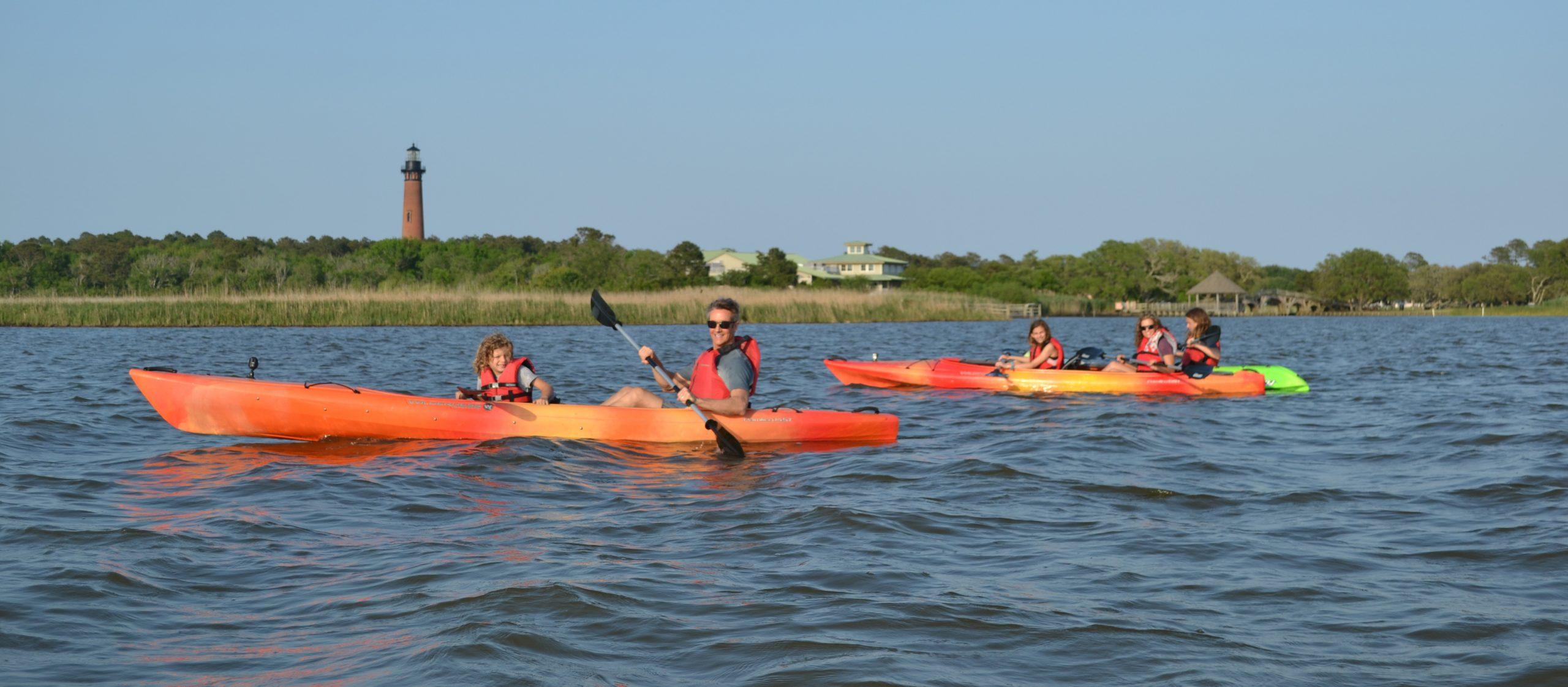 Currituck Sound kayaking
