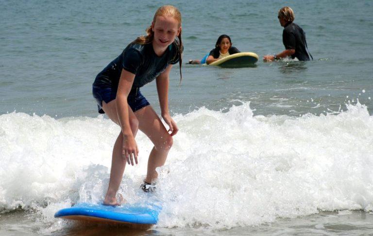 surfing in Corolla