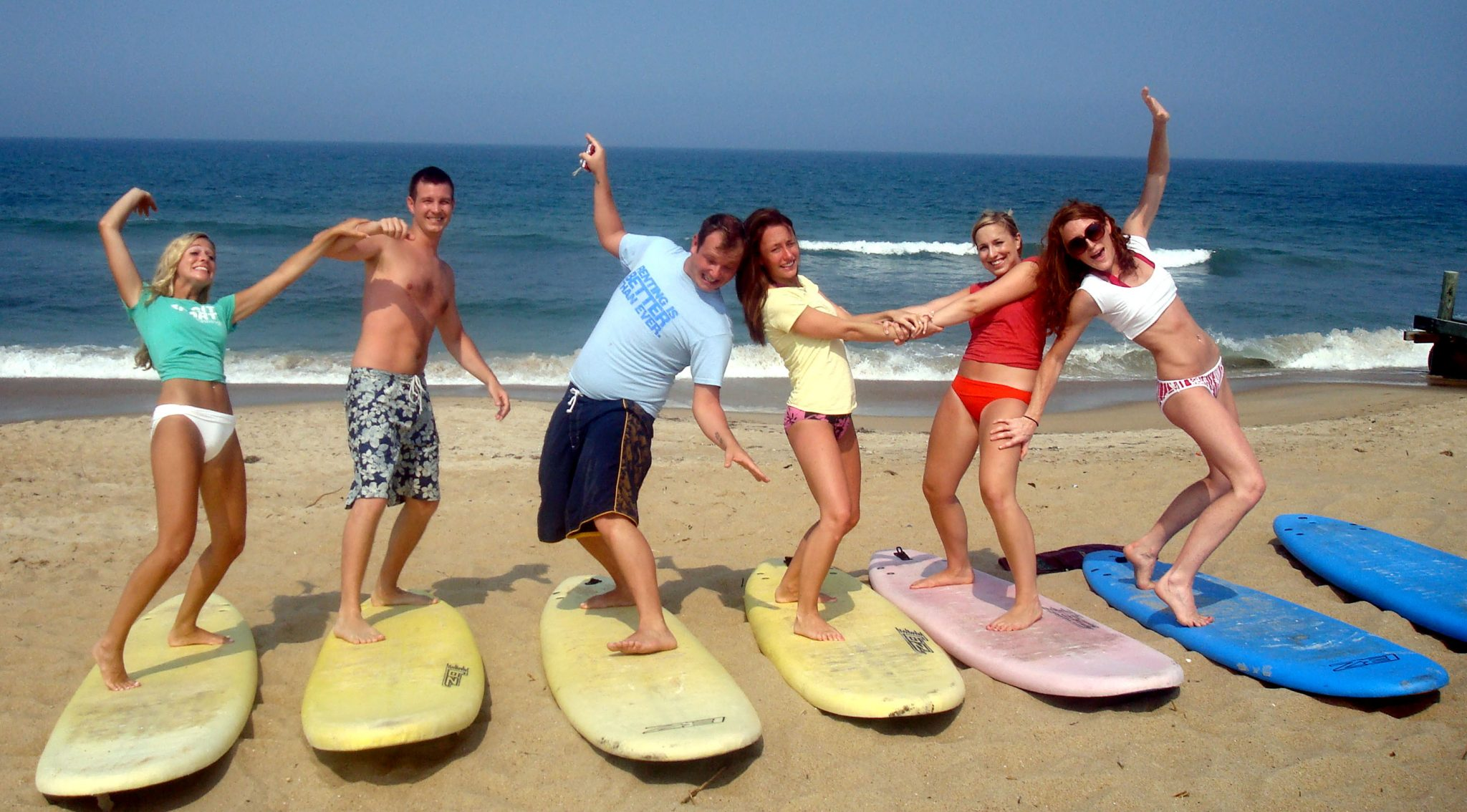 surfing in Duck