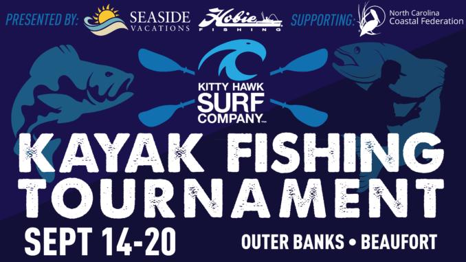 kitty hawk surf company fall kayak fishing tournament