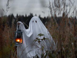 ghost holding lantern