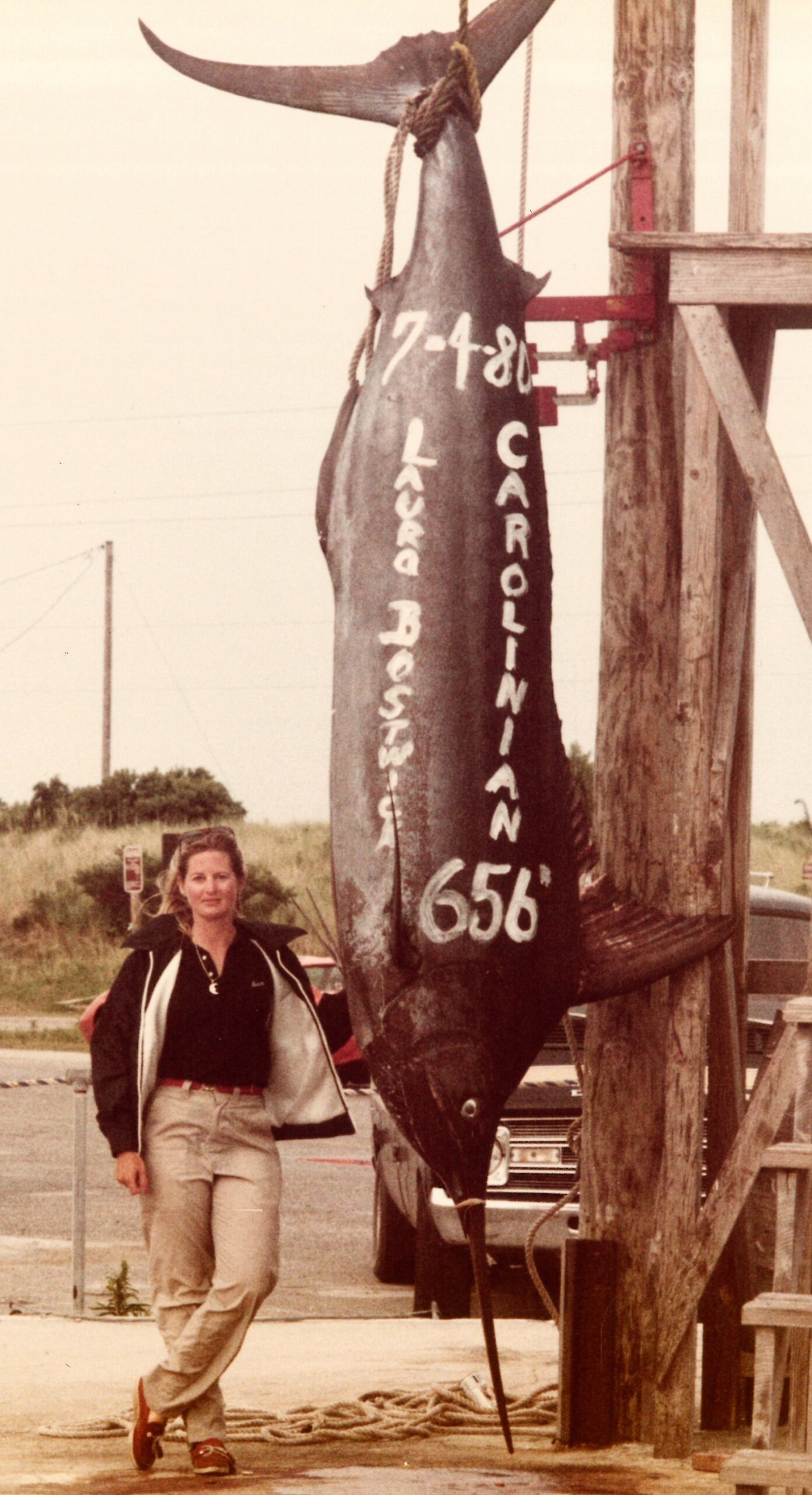 Laura Bostwick, former blue marlin state record holder, dies at 76 - OBXToday.com